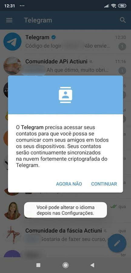 tutoria telegram 11 Instituo Actiuni Andréia Kisner